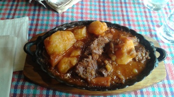 Bosnian stew of beef, veal and potatoes.