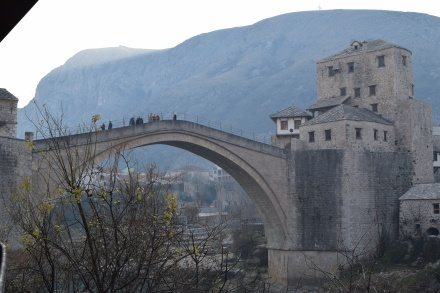 An absolutely beautiful reconstruction of the original Stari Most.