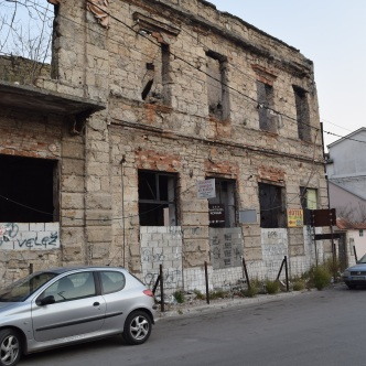 Building on the Eastern side of Mostar.