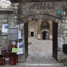 This museum has several buildings including the oldest school in Sarajevo, and a library. There are many souvenir kiosks just outside of it.