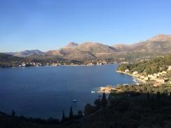Leaving Dubrovnik.