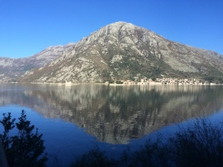 On our way to Kotor, we pass Perast.