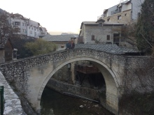 The Crooked Bridge was another bridge that was destroyed in the war and was rebuilt by an historical society from Luxembourg.
