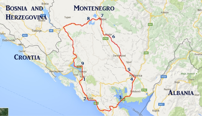 Road Trip Through Montenegro
