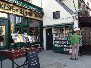 A magical English bookstore.