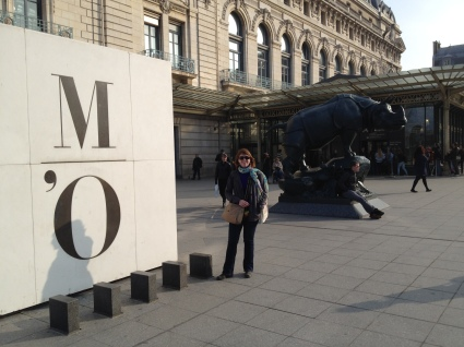 Outside the Musee D'Orsay