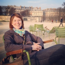 In the Jardin des Tuileries