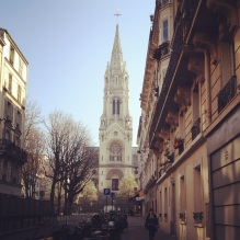 The church we passed every day on our way to and from the hotel.