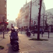 Rue de Menilmontant.