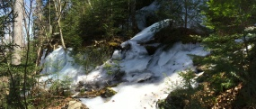 The ice is getting thicker and the trail is getting more difficult.