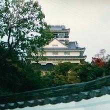 Gifu castle.