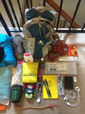 Hiking Gear and Miscellaneous Stuff