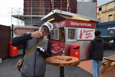 The Oldest Hot Dog Stand in Reykjavik