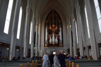 The real reason to visit Hallgrimskirkja - its incredible pipe organ. That's actually played on a regular basis!