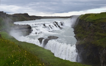 Gullfoss in all its glory.