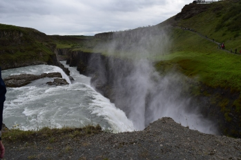 The lower part of Gullfoss.