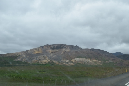 Rhyolite mountains.