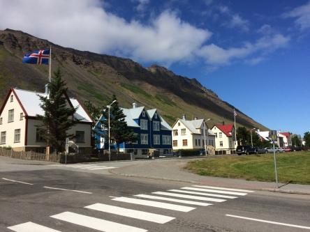 More beautiful houses in Isafjordur.