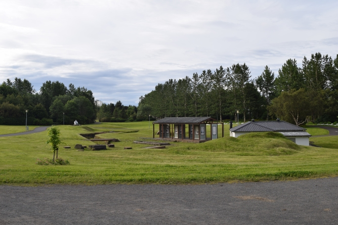 This lovely green space (part of the Reykjavik Museum) is located just behind the campground, accessible by path.