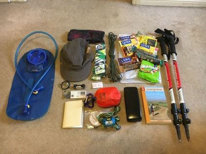 Packing for the Camino - Walking
