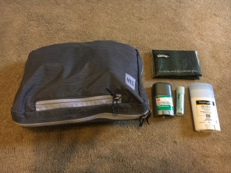 Packing for the Camino - Toiletries