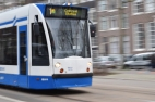 The trams are a great way of getting around the city if you decide not to risk your life renting a bike.