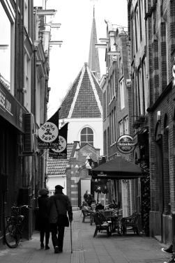 A quiet street scene.