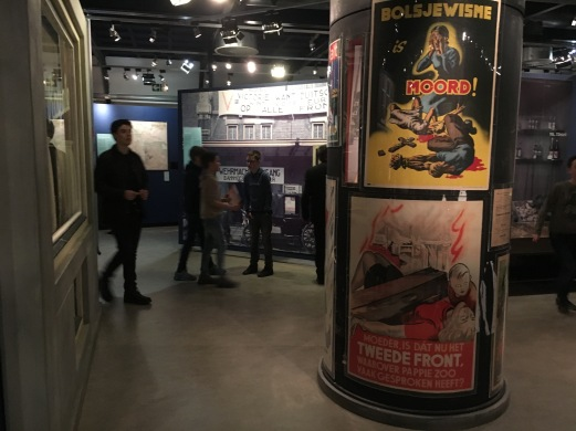 A small museum that tells about life during the occupation with side exhibits on the different forms of resistance - strikes, protests, gun smuggling, forgery, etc.