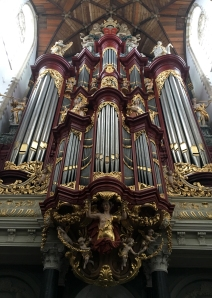 The pipe organ that Mozart played on when he was ten years old.