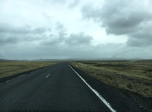 Driving the south coast of Iceland.