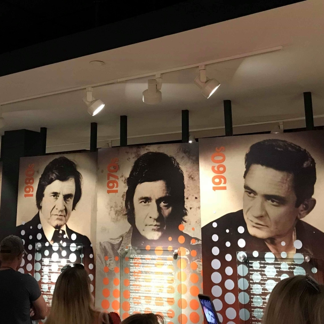 Johnny Cash through the years.